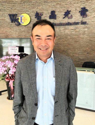 智晶光電董事長王鴻鈞(本報系資料庫)