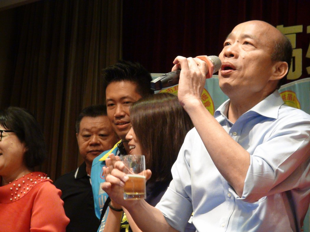 被罷免成功的高雄市長韓國瑜。圖/聯合報系資料照片