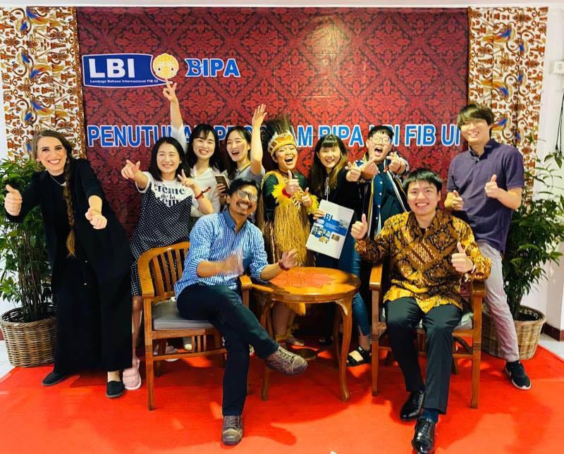 學員派訓印尼照片。 貿協/提供
