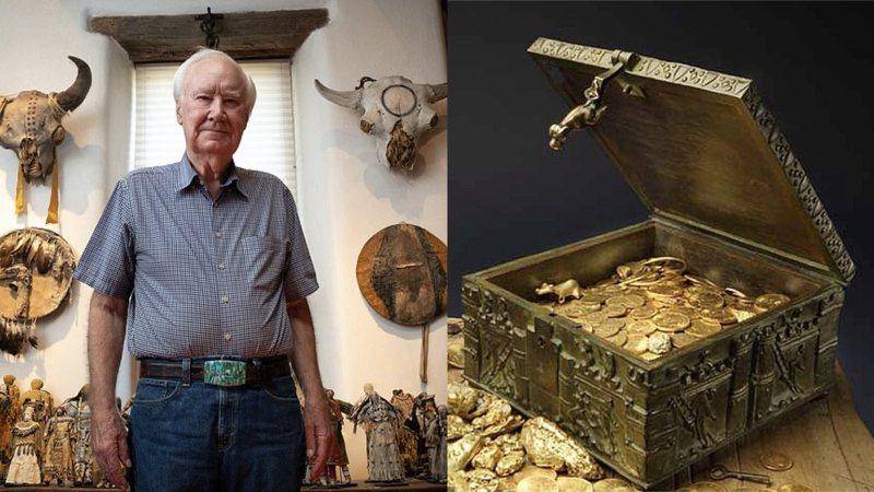 這位89歲的收藏家十年前對外宣稱自己將寶藏箱藏在洛磯山脈中。圖擷自Daily News