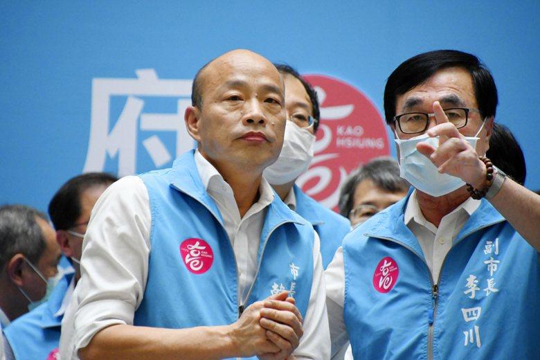 6月6日高雄市長韓國瑜以逾93萬票遭市民罷免成功。 圖/美聯社