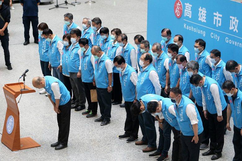 韓市長在罷免結果出爐後的演講提到,感謝130萬未投票的人對他的支持,這正是典型韓式民粹風格。 圖/聯合報系資料照