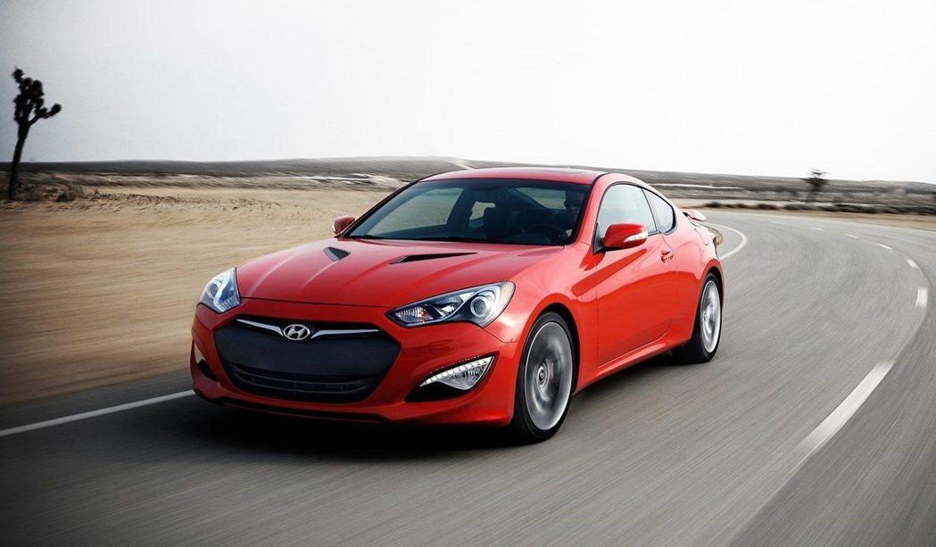 Hyundai Genesis Coupe當初可是想打開北美韓系跑車市場。 摘自...