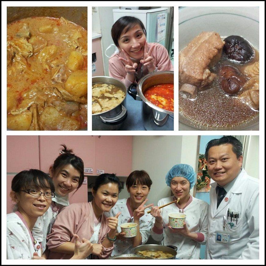來自馬來西亞的陳志金,經常自己下廚料理慰勞醫護同仁。充滿南洋風味的咖哩、肉骨茶,...