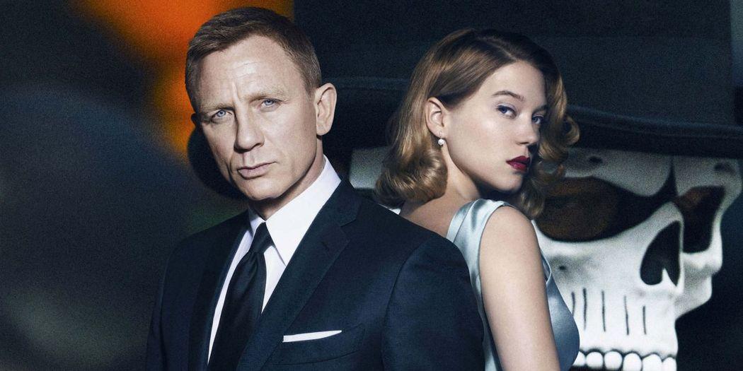 丹尼爾克雷格(左)、蕾雅瑟杜(右)曾在前一集「007惡魔四伏」合作演出。圖/索尼