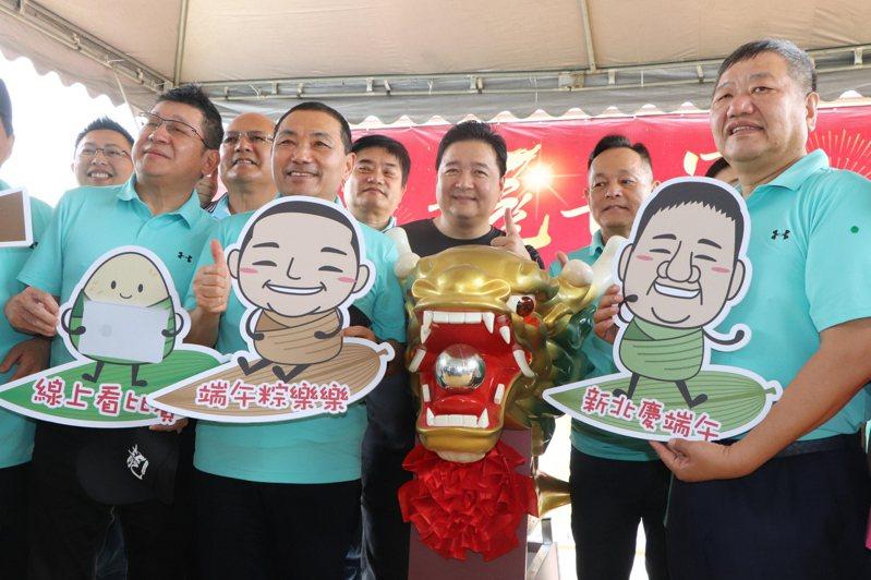 「新北市議長盃第10屆龍舟錦標賽」將於6月25、26日在蘆洲微風運河登場。 記者吳亮賢/攝影