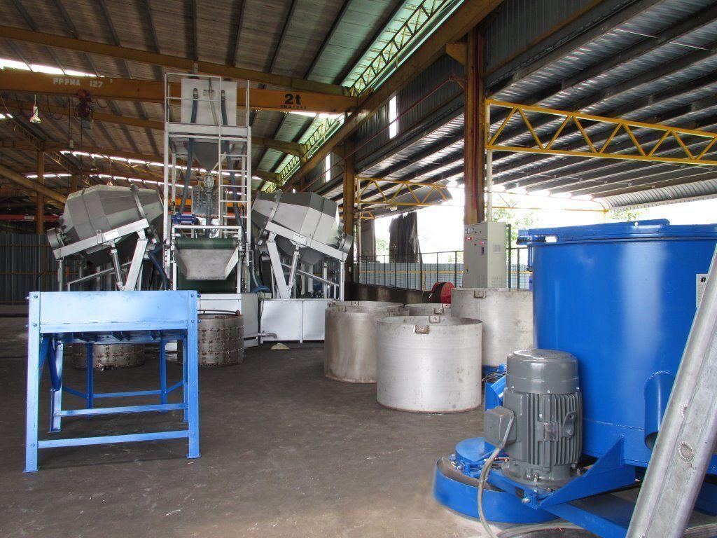 利運機械鍍鋅整廠設備綜效高,今年首季賣出佳績。 業者/提供