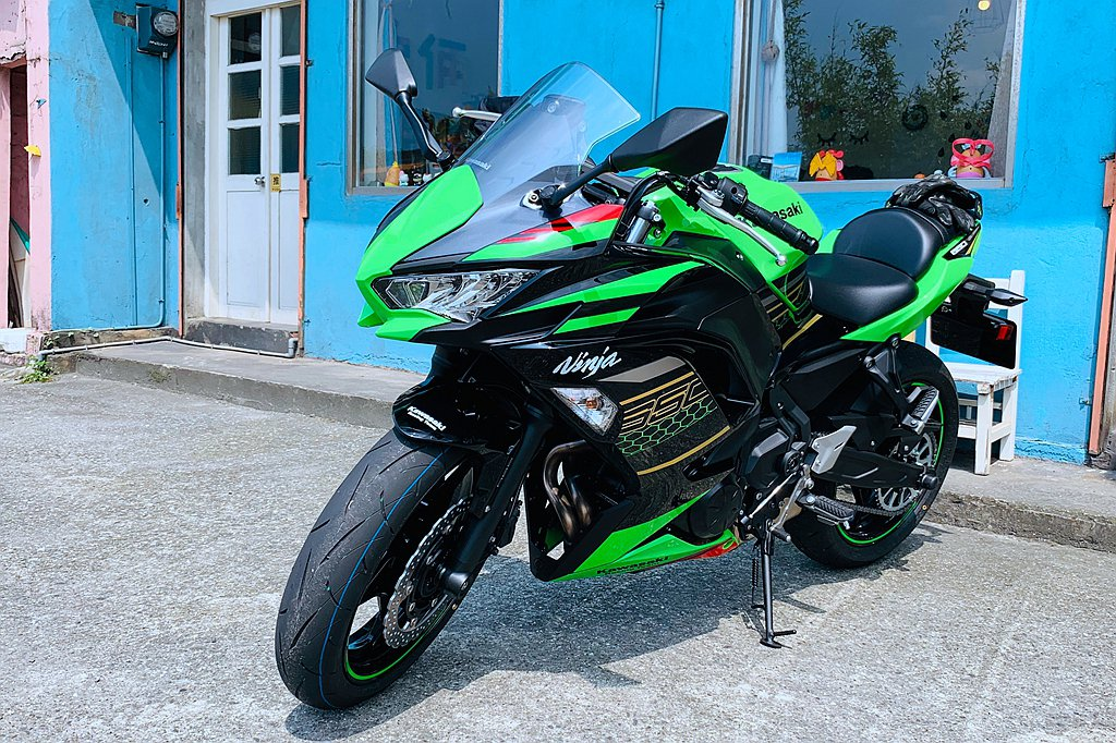 Kawasaki Ninja 650改款在台發表後,現正預購中。 圖/Kawas...