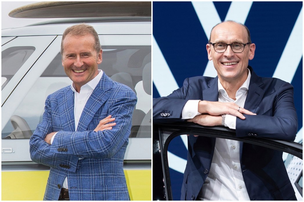 圖左為Herbert Diess,圖右為Ralf Brandstätter。 摘...