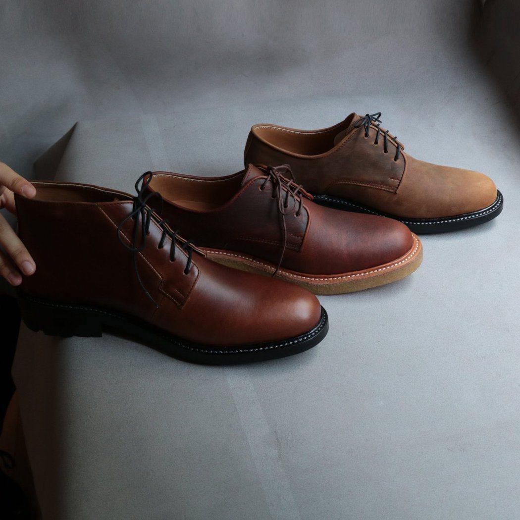 陳敬凱認為皮鞋之於男裝歷史已久,是一種理所當然的選擇。 圖/Chenjingka...