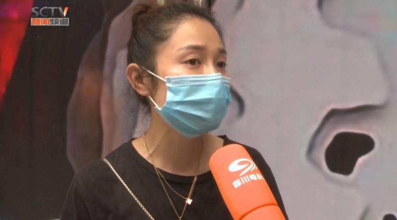 黎女士指出,這突如其來的變化對她的工作和生活都造成極大影響,她因為這件事情失去了男朋友和工作。圖/四川電視台