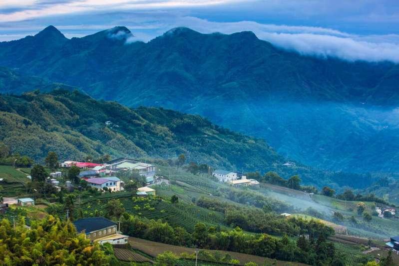 1314觀景台為知名茶飲廣告拍攝地點。 (圖片提供:阿里山國家風景區)