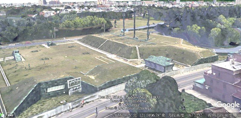 Google衛星地圖日前重啟桃園等都會區立體3D影像圖資功能,台北、新北與台中也將陸續重啟。圖/取自Google Earth