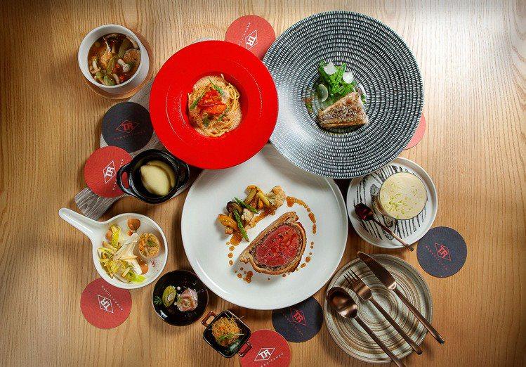 T.R Bar Kitchen推出頂級和牛威靈頓四人饗宴。圖/大直英迪格提供