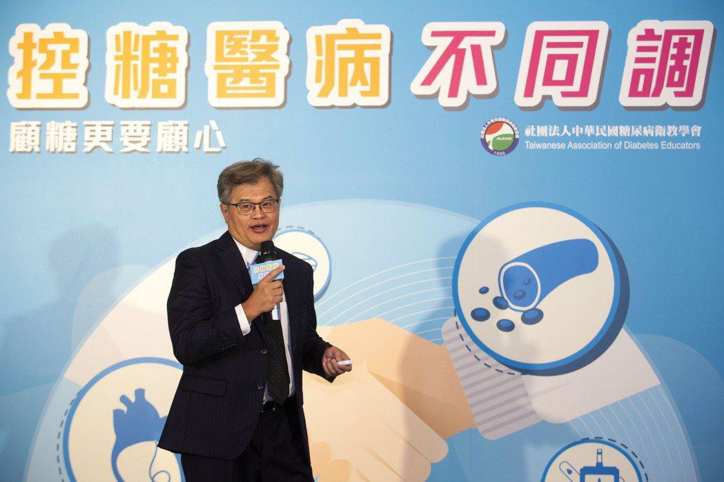 糖尿病衛教學會理事長杜思德表示,全台目前約230萬名糖友,雖台灣疫情已大解封,糖...