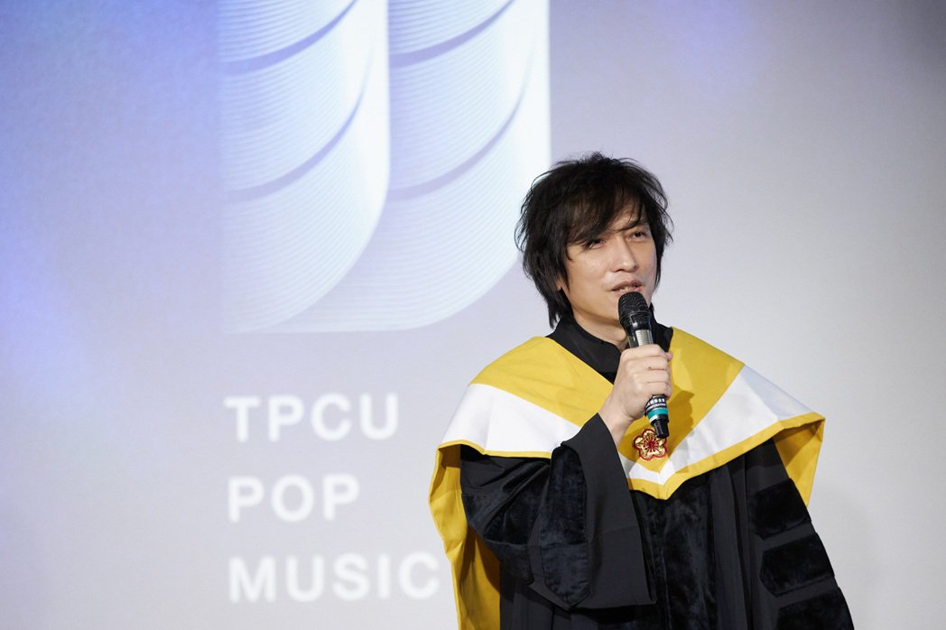 薛忠銘擔任台北城市科技大學流行音樂系系主任。圖/城市科大提供