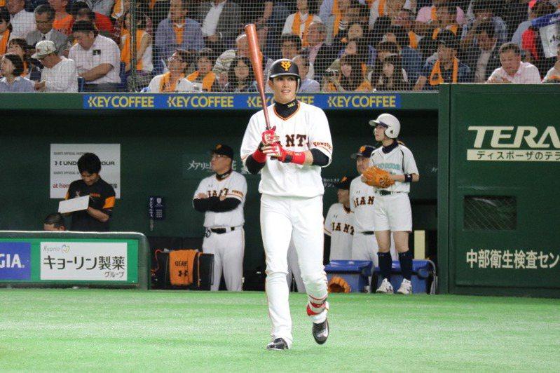 台灣好手陽岱鋼春訓首次出賽2打數未敲安,打擊狀況還在調整中。 聯合報系資料照