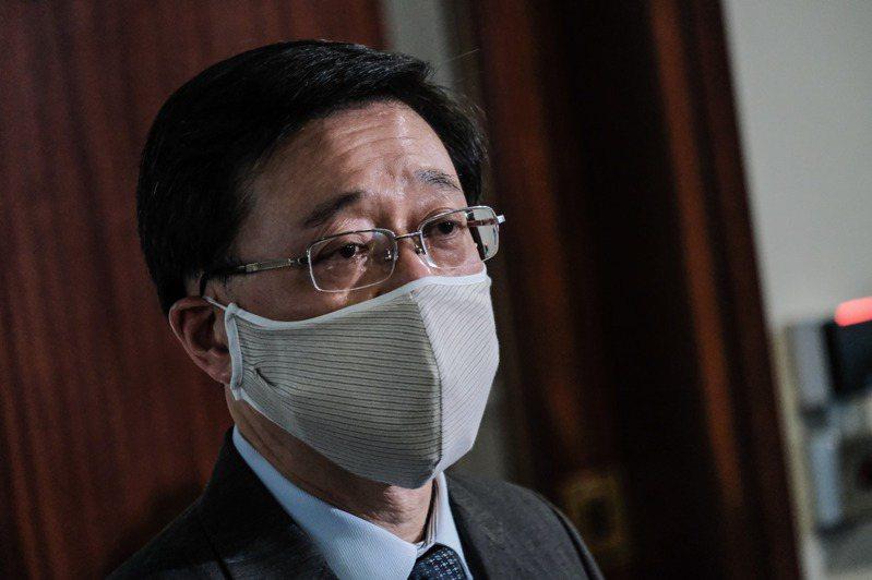 香港保安局局長李家超。 中通社