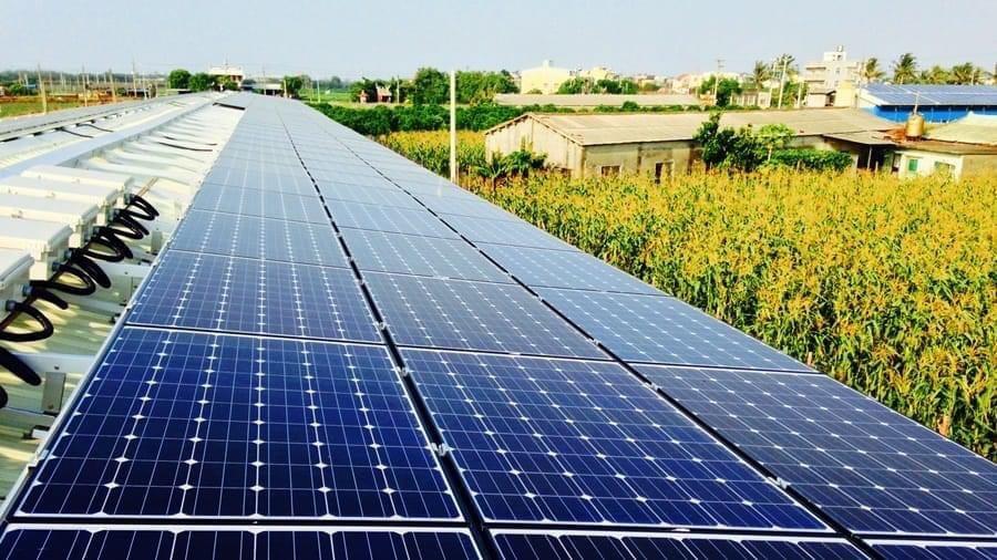台灣中南部具有優異條件發展太陽光電。 圖 / 太陽光電產業協會提供