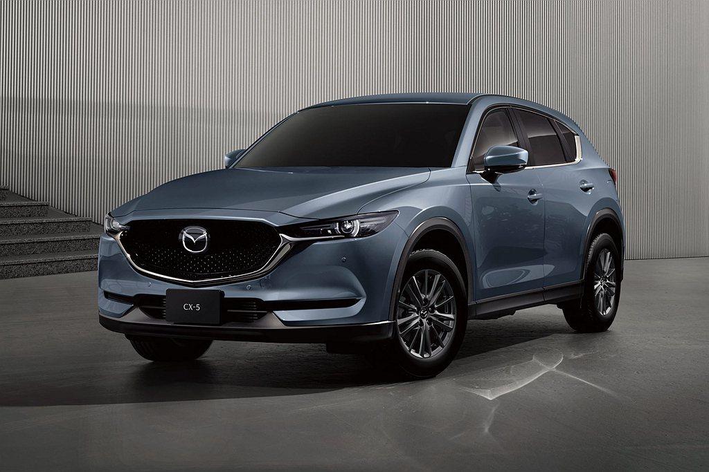 台灣馬自達宣布推出Mazda CX-5獻定版,為品牌建廠百年率先慶賀。 圖/Ma...