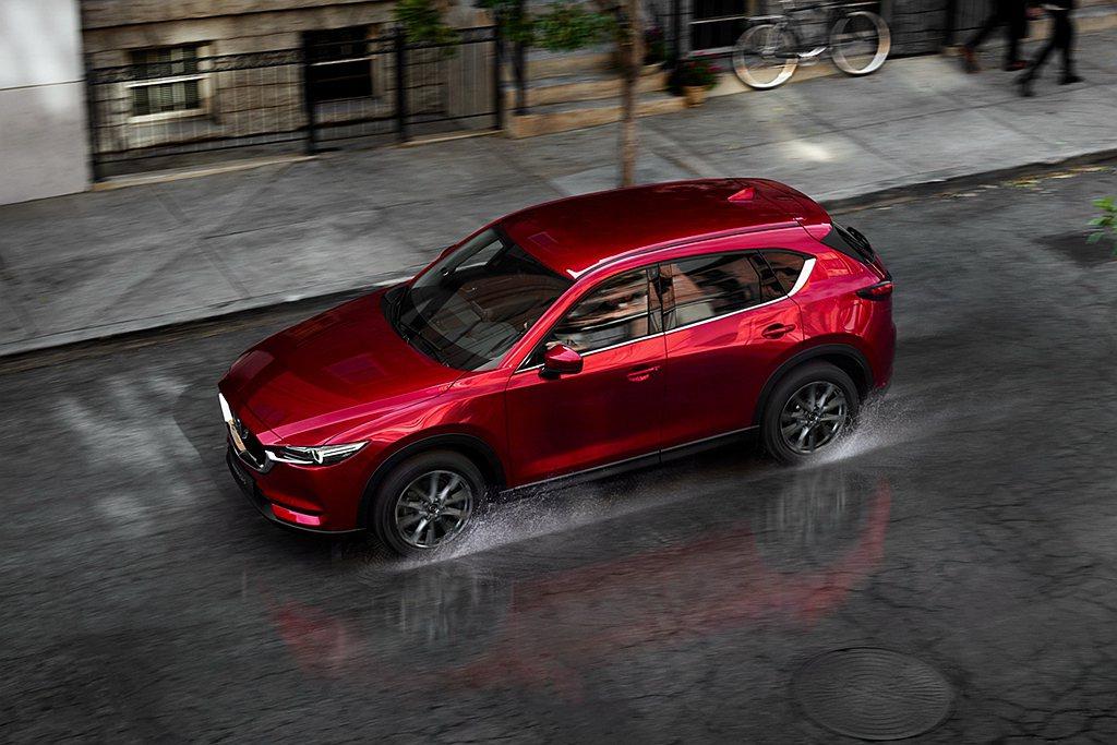 Mazda CX-5 2.5 AWD旗艦進化型的i-ACTIV AWD智慧型四輪...