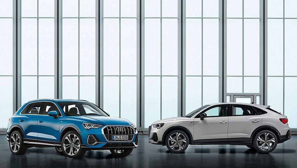 新世代Audi Q3/Q3 Sportback車系率性登台,全車系規劃35 TF...