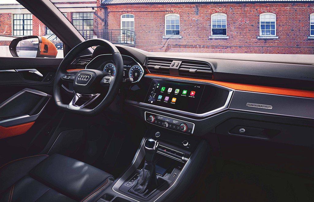 全新Audi Q3/Q3 Sportback全面採用最新Audi MMI數位化車...