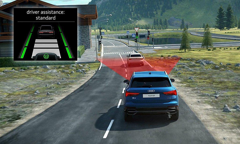 全新世代Audi Q3/Q3 Sportback全車系在主動安全方面包含ACC主...