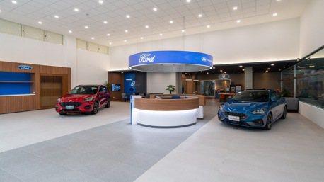 拚產品不忘升級展間 全台首座Ford Signature展示中心啟用