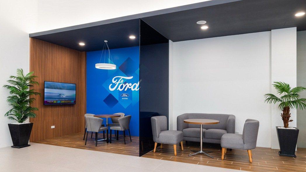 全新洽談空間規劃,滿足更多元的消費者需求。 圖/福特六和提供