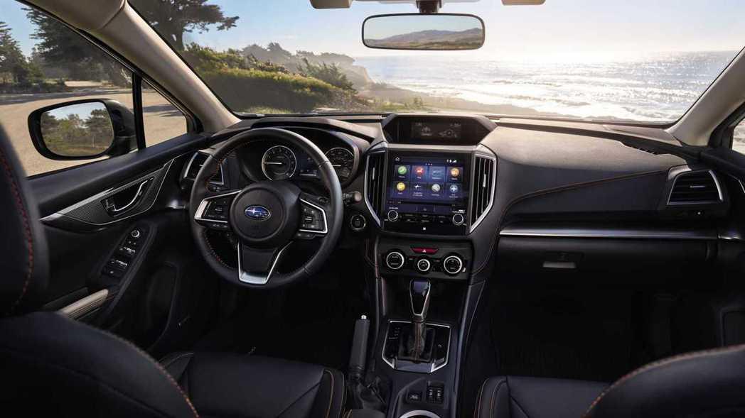 新年式Subaru Crosstrek內裝鋪陳。 摘自Subaru