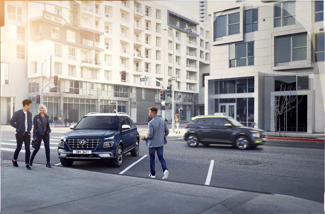 Hyundai Venue即日起開放預購。 圖/南陽實業提供