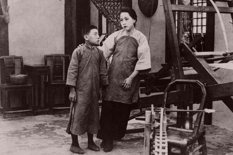 《孤兒救祖記》在台灣的放映,大約是在上海放映之後的兩年。 圖/Women Film Pioneers