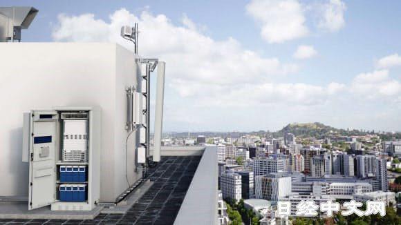 6G時代基地台數量將大舉增加(位於大樓頂上的天線)