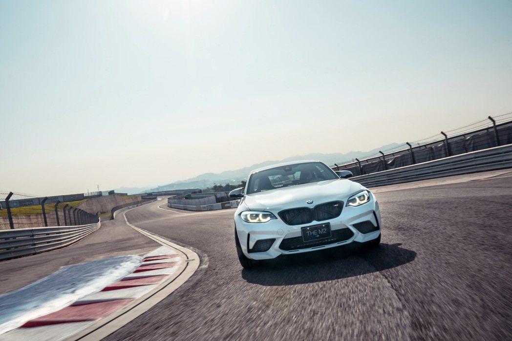 狂野且操控精準的競速跑格滿足更多M車迷的想望。 圖/汎德提供