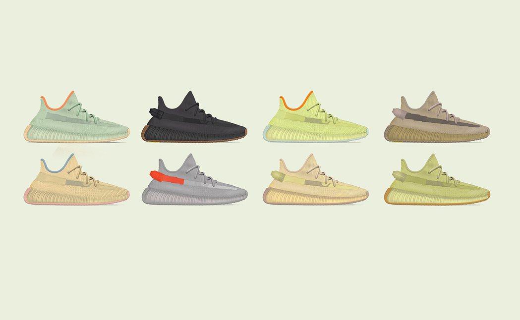 嘻哈巨星Kanye West與adidas攜手開創的Yeezy系列鞋款大殺四方。