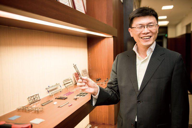 駿熠集團營運長李賢文。 (攝影/溫偉廷)