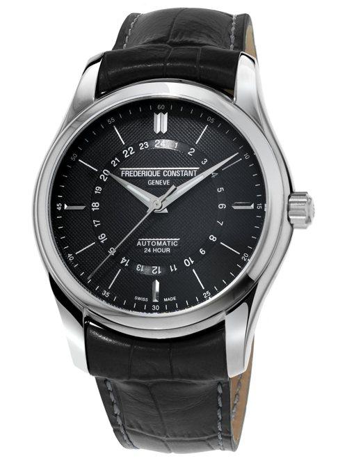 Frederique Constant,Classics Automatic 24H腕表,精鋼,43毫米,自動上鍊機芯,時間顯示,38,000元。圖/Frederique Constant提供