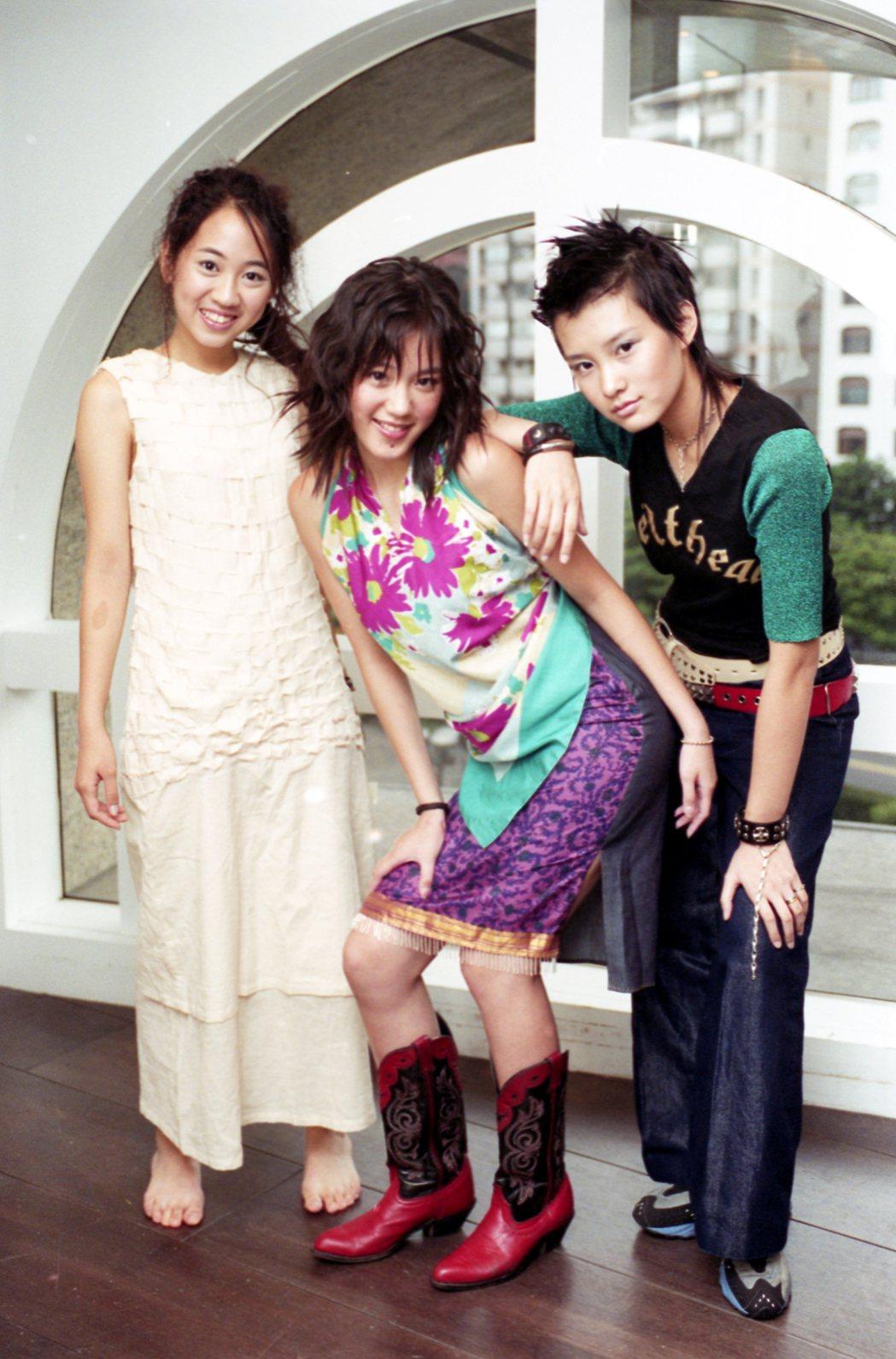 Kiss成員,王婷萱(左起)、蔡裴琳、張碩芬。本報資料照片