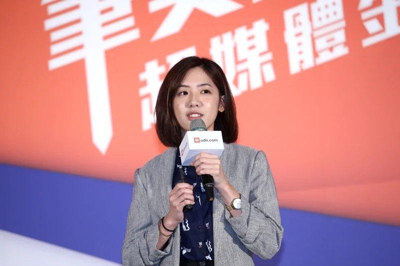 民眾黨立委蔡壁如透露,北市府副發言人「學姐」黃瀞瑩想選議員。圖/聯合報系資料照片