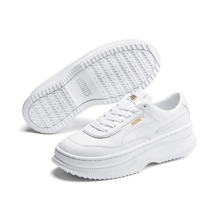 PUMA DEVA裸白色休閒鞋3,480元。圖/PUMA提供