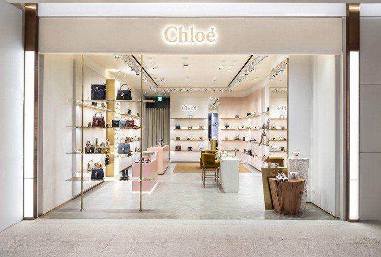 Chloé遠百信義A13配件鞋履專賣店全新開幕。圖/Chloé提供