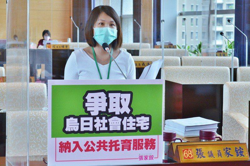 台中市議員張家銨爭取烏日社會住宅納入公托項目。圖/張家銨提供