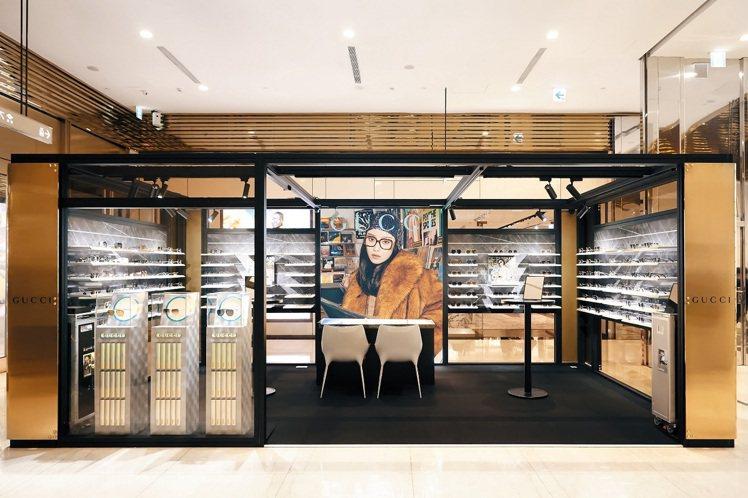 微風信義引進2020EYEhaus-Gucci Eyewear期間限定概念店。圖...