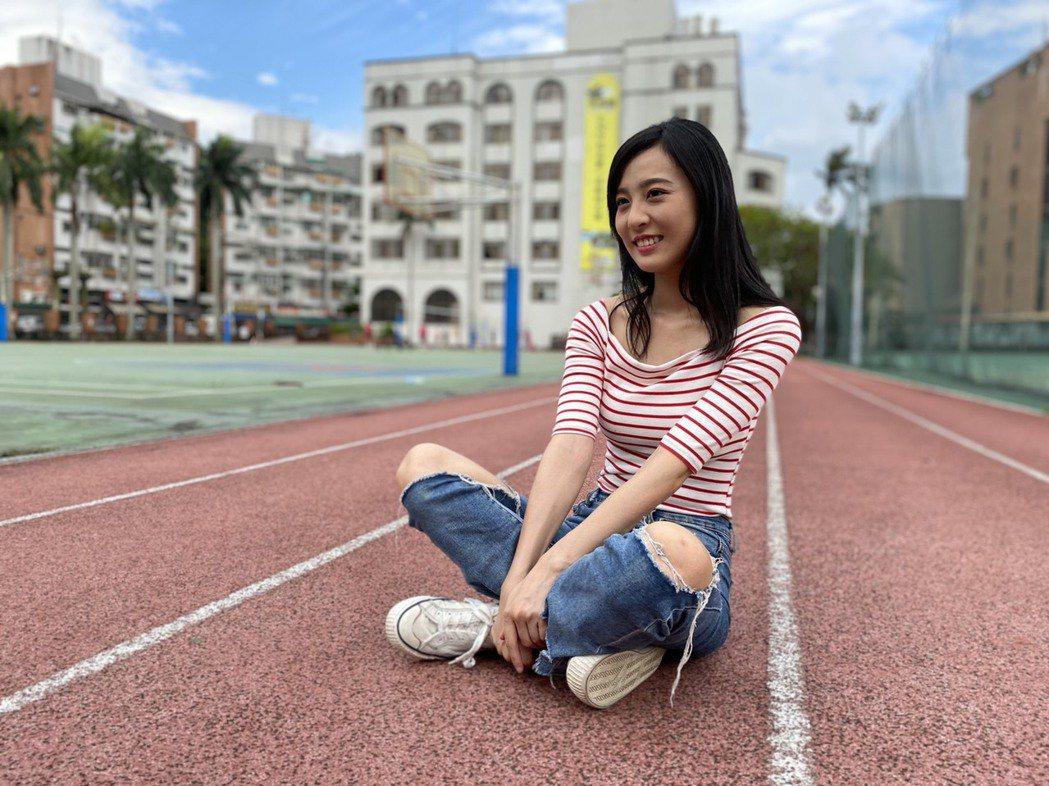 張雅惟目前就讀世新大學公廣系。圖/風雅國際提供