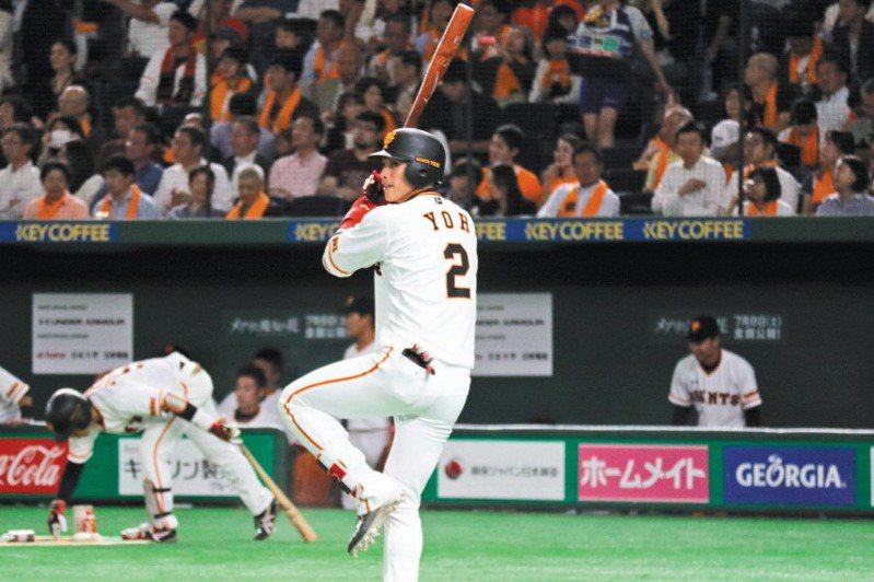 陽岱鋼練習賽對橫濱這三戰合計七次打數揮出五支安打,攻下四分打點。 聯合報系資料照