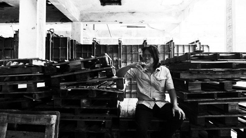 《工作記事》作者陳昌遠。 圖/達瑞攝,逗點文創結社提供