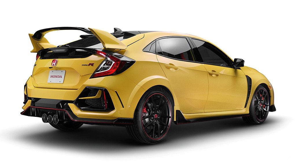 Honda Civic Type R Limited Edition限量版陸續開...