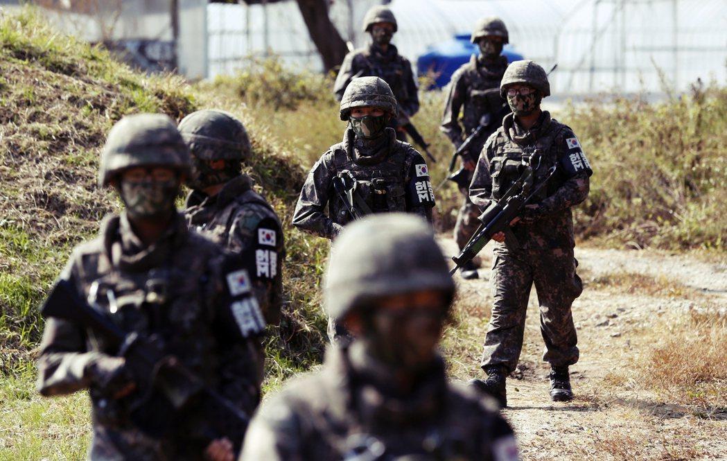 「南北間的緊張,也為邊境地帶居民的生命安全招致威脅...」 圖/美聯社
