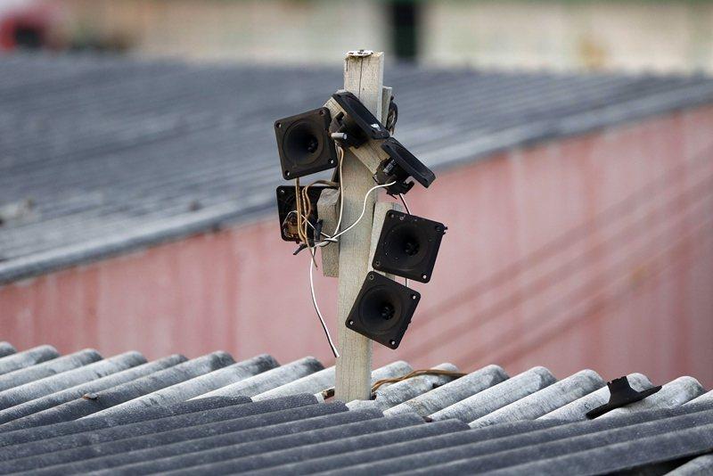 厲害的燕農經由長期的燕屋觀察、調整、研究,慢慢習得燕屋裡的聲音技藝。 圖/路透社
